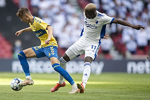 Jesper Lindstr�m (Br�ndby IF), Mohamed Daramy  (FC K�benhavn)