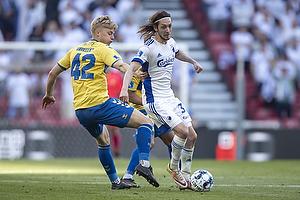 Tobias B�rkeeiet (Br�ndby IF), Rasmus Falk  (FC K�benhavn)