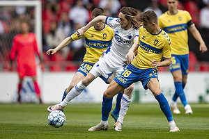 Rasmus Falk  (FC K�benhavn), Jesper Lindstr�m (Br�ndby IF)