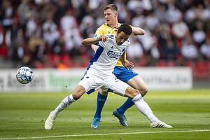 Carlos Zeca  (FC K�benhavn), Morten Frendrup (Br�ndby IF)