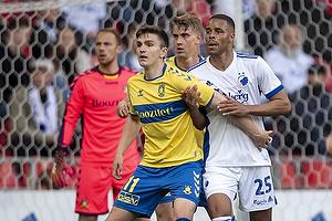 Mikael Uhre (Br�ndby IF), Mathias Zanka J�rgensen  (FC K�benhavn)