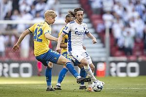 Rasmus Falk  (FC K�benhavn), Tobias B�rkeeiet (Br�ndby IF)