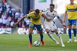 Anis Slimane (Br�ndby IF), Carlos Zeca  (FC K�benhavn)