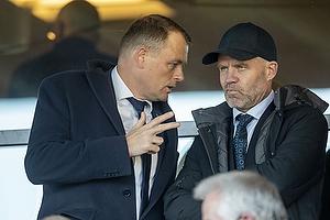 Jacob Nielsen, adm. direkt�r  (Agf), Stig Inge Bj�rnebye, sportschef  (Agf)