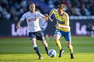 Lasse Vigen Christensen (Br�ndby IF), Casper H�jer Nielsen  (Agf)