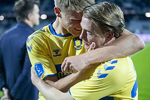 Hj�rtur Hermannsson (Br�ndby IF), Simon Hedlund (Br�ndby IF)