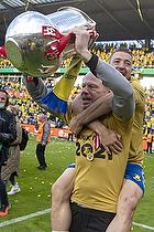 Leif Mortensen, holdleder  (Br�ndby IF), Josip Radosevic (Br�ndby IF)