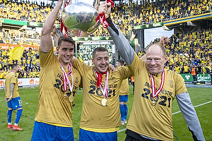 Leif Mortensen, holdleder  (Br�ndby IF), Josip Radosevic (Br�ndby IF), Andreas Maxs� (Br�ndby IF)