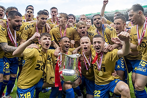 Jesper Lindstr�m (Br�ndby IF), Kevin Mensah (Br�ndby IF), Hj�rtur Hermannsson (Br�ndby IF), Josip Radosevic (Br�ndby IF)