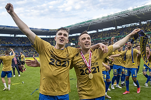 Mikael Uhre (Br�ndby IF), Lasse Vigen Christensen (Br�ndby IF)