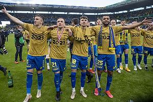 Mikael Uhre (Br�ndby IF), Lasse Vigen Christensen (Br�ndby IF), Jesper Lindstr�m (Br�ndby IF), Anis Slimane (Br�ndby IF)