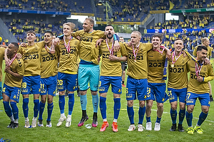 Kevin Mensah (Br�ndby IF), Jesper Lindstr�m (Br�ndby IF), Jagvir Singh  (Br�ndby IF), Oskar Fallenius (Br�ndby IF), Marvin Schw�be (Br�ndby IF), Anthony Jung (Br�ndby IF), Hj�rtur Hermannsson (Br�ndby IF), Peter Bjur (Br�ndby IF), Lasse Vigen Christensen (Br�ndby IF), Rezan Corlu (Br�ndby IF)