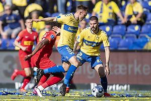Lasse Vigen Christensen (Br�ndby IF), Anthony Jung (Br�ndby IF)