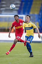 Abu Francis  (FC Nordsj�lland), Lasse Vigen Christensen (Br�ndby IF)