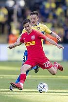 Lasse Vigen Christensen (Br�ndby IF), Victor Jensen  (FC Nordsj�lland)