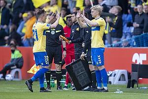 Lasse Vigen Christensen (Br�ndby IF), Tobias B�rkeeiet (Br�ndby IF)
