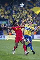 Lasse Vigen Christensen (Br�ndby IF), Tochi Chukwuani  (FC Nordsj�lland)