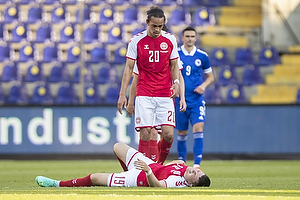 Yussuf Poulsen  (Danmark), Jonas Wind  (Danmark)