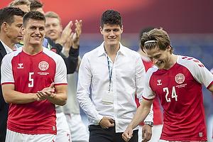 Christian N�rgaard  (Danmark), Joakim M�hle  (Danmark), Mathias Jensen  (Danmark)