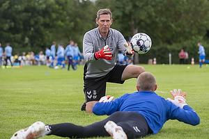Claus Fallentin, m�lmandstr�ner  (Br�ndby IF)