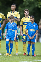 Joel Kabongo  (Br�ndby IF), Mathias Kvistgaarden  (Br�ndby IF)