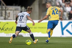 Tobias B�rkeeiet  (Br�ndby IF), Jon Thorsteinsson  (Agf)