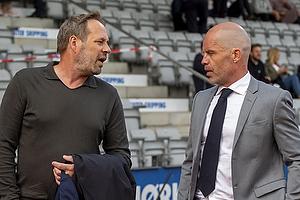 Carsten V. Jensen, fodbolddirekt�r (Br�ndby IF), Stig Inge Bj�rnebye, sportschef  (Agf)