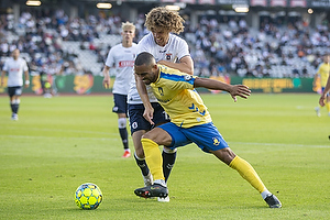 Kevin Mensah  (Br�ndby IF), Alexander Munksgaard  (Agf)