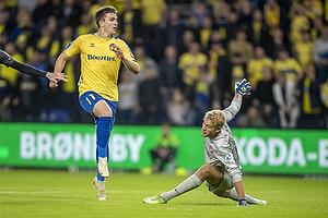 Mikael Uhre  (Br�ndby IF), Jonas L�ssl  (FC Midtjylland)