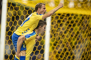 Mikael Uhre, m�lscorer  (Br�ndby IF), Simon Hedlund  (Br�ndby IF)