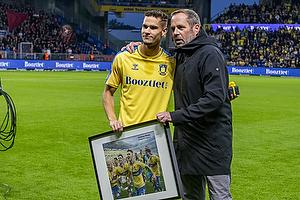 Andreas Bruus  (Br�ndby IF), Carsten V. Jensen, fodbolddirekt�r (Br�ndby IF)