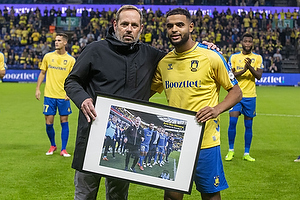 Carsten V. Jensen, fodbolddirekt�r (Br�ndby IF), Anis Slimane  (Br�ndby IF)