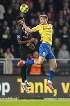 Mathias Greve  (Br�ndby IF), Raphael Nwadike  (FC Midtjylland)