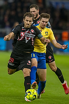 Erik Sviatchenko  (FC Midtjylland), Mikael Uhre  (Br�ndby IF)