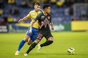 Andrija Pavlovic  (Br�ndby IF), Paul Victor da Silva  (FC Midtjylland)