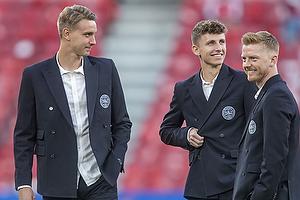 Jesper Lindstr�m  (Danmark), Andreas Maxs�  (Danmark), Anders Christiansen  (Danmark)