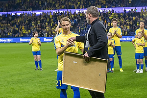 Simon Hedlund  (Br�ndby IF), Carsten V. Jensen, fodbolddirekt�r (Br�ndby IF)