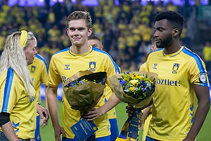 Mathias Greve  (Br�ndby IF), Kevin Tshiembe  (Br�ndby IF)