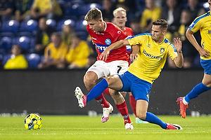 Andreas Bruus  (Br�ndby IF), Nicolai Vallys  (Silkeborg IF)