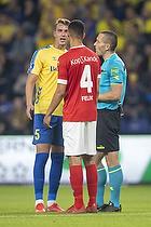 Andreas Maxs�  (Br�ndby IF), Joel Felix  (Silkeborg IF)