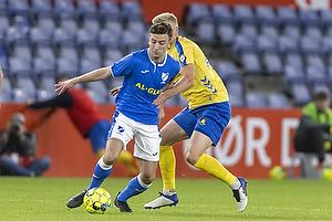 Mathias Greve  (Br�ndby IF), S�ren Freund, anf�rer  (Aller�d Fodbold Klub)