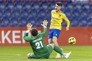 Marko Divkovic  (Br�ndby IF), Magnus Christensen  (Aller�d Fodbold Klub)