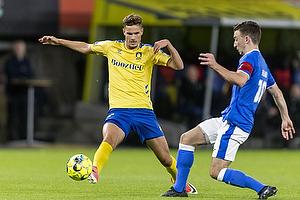 Andreas Bruus  (Br�ndby IF), S�ren Freund, anf�rer  (Aller�d Fodbold Klub)