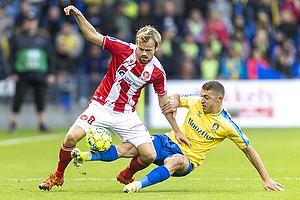 Josip Radosevic  (Br�ndby IF), Iver Fossum  (Aab)