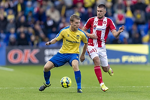 Sigurd Rosted  (Br�ndby IF), Tim Prica  (Aab)