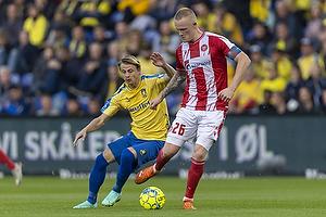 Rasmus Thelander  (Aab), Simon Hedlund  (Br�ndby IF)