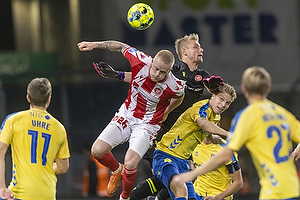 Sigurd Rosted  (Br�ndby IF), Rasmus Thelander  (Aab), Jacob Rinne  (Aab)