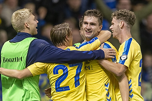 Mikael Uhre, m�lscorer  (Br�ndby IF), Simon Hedlund  (Br�ndby IF), Christian Cappis  (Br�ndby IF), Tobias B�rkeeiet  (Br�ndby IF)