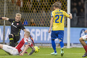 Simon Hedlund  (Br�ndby IF), Rasmus Thelander  (Aab)