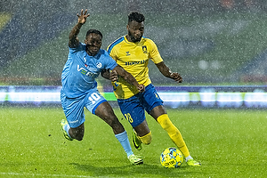 Kevin Tshiembe  (Br�ndby IF), Tosin Kehinde  (Randers FC)